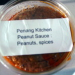 Peanut sauce so good you can put it on everything!  And now you can take it home
