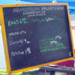 What&#039;s in at Armstrong Valley Farm