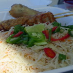 Combo plate from Penang Kitchen  Real Street Food in Sonoma County
