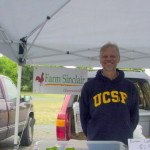 Lee from Sinclair Farm located in Mays Canyon just outside of Guerneville