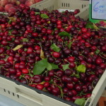 Cherries EGB now at the Wednesday market too