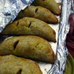 Curry puffs from Penang Kitchen - the pastry is light and flaky